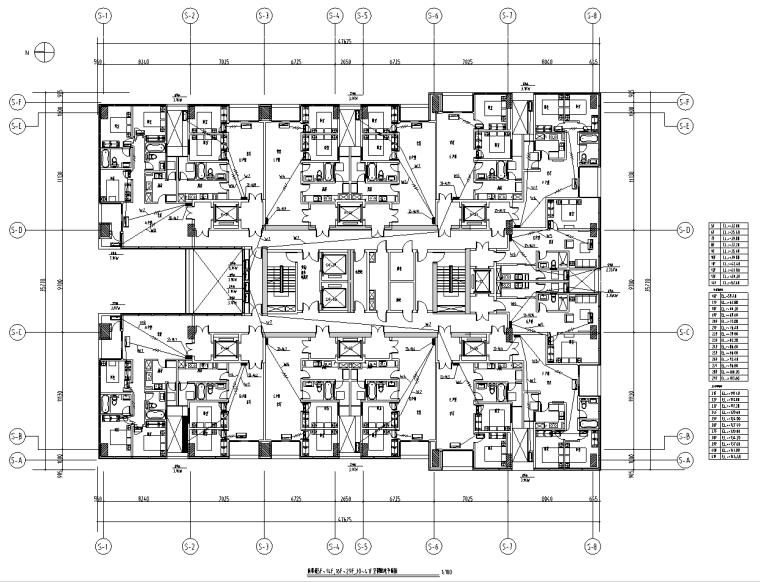 浙江超高层酒店办公楼及住宅电气施工图