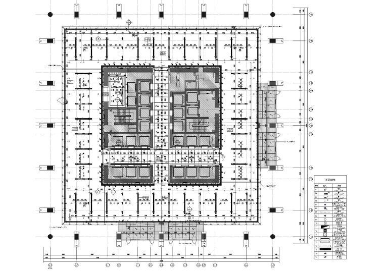[天津]陆家嘴38层现代办公楼施工图+效果图