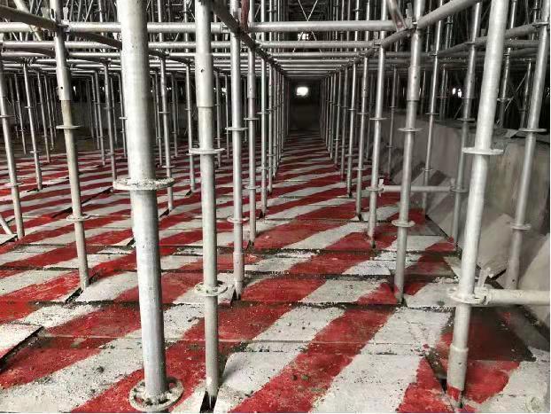 水雪综合体工程高大模板支撑体系施工方案-93fe4f11a5d93de2e3ba3225c1b6700