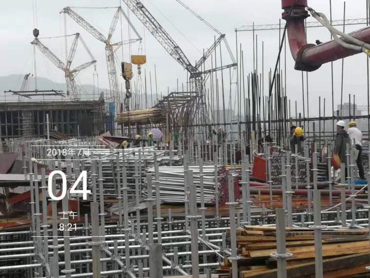 水雪综合体工程高大模板支撑体系施工方案-7fca15a7ddaeedb3a3f6545f59662cd