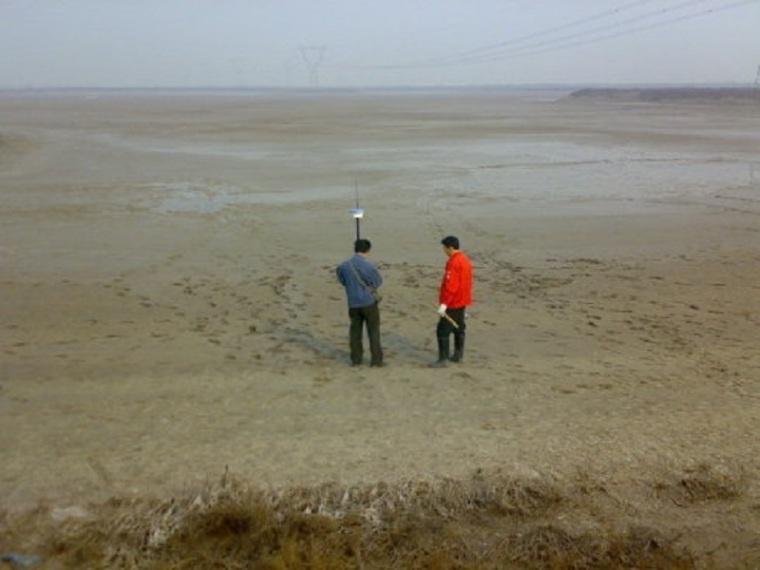 河道治理测量放线安全施工方案.
