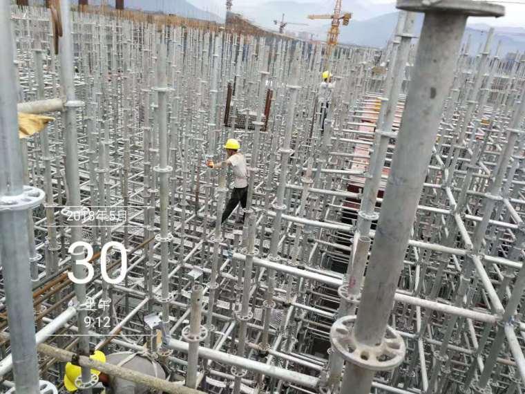 水雪综合体工程高大模板支撑体系施工方案-bee7d96a127f0af761b364ece99a2c7