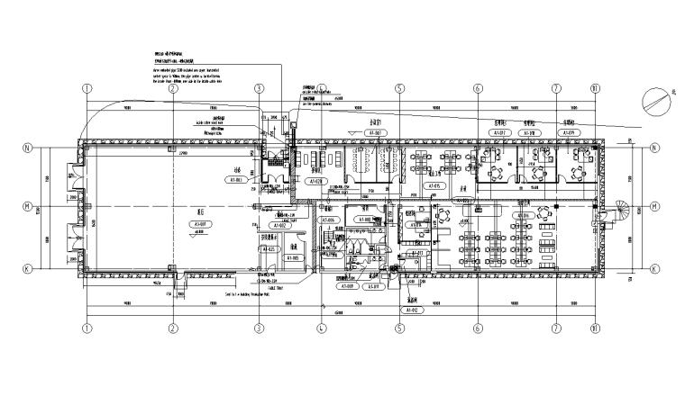 江苏常州家具厂房及配套办公楼电气施工图