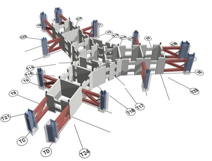 主塔楼伸臂桁架核心筒钢结构施工专项方案