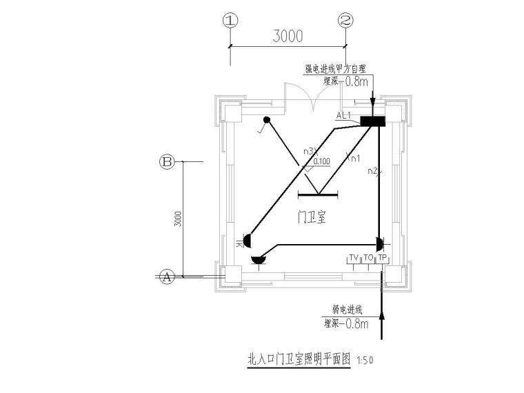 [南宁]社区环境景观照明工程设计图纸