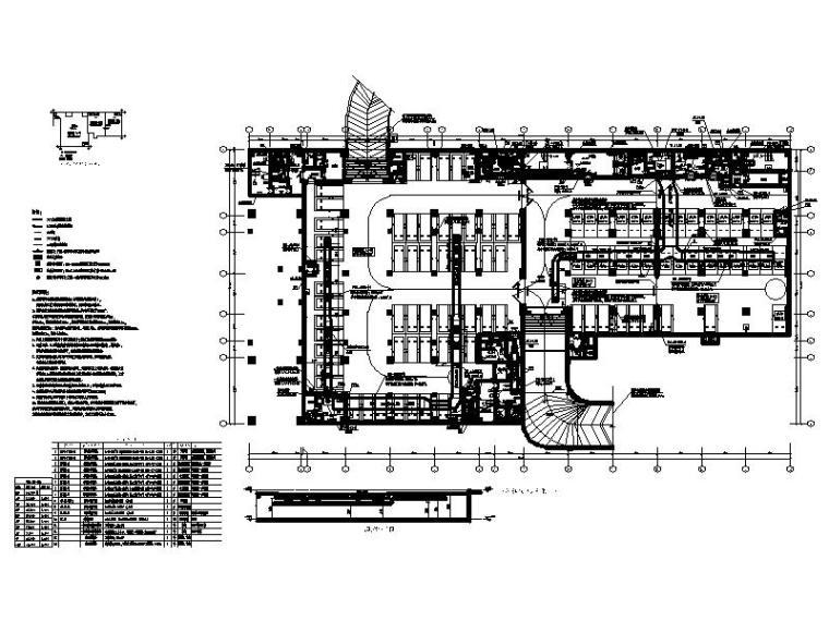 [广州]职业学院综合楼空调通风设计图纸2019