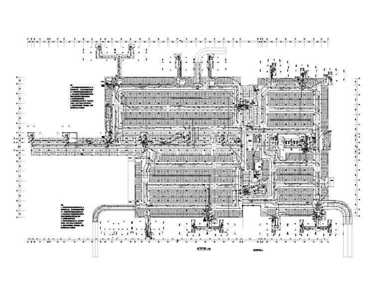 [贵州]某住宅小区一万平地下室电气施工图