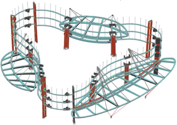 主塔楼首层大堂环梁及钢雨篷施工专项方案
