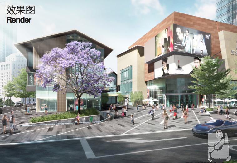 [广西]桂林顶级现代都市商业区景观设计方案