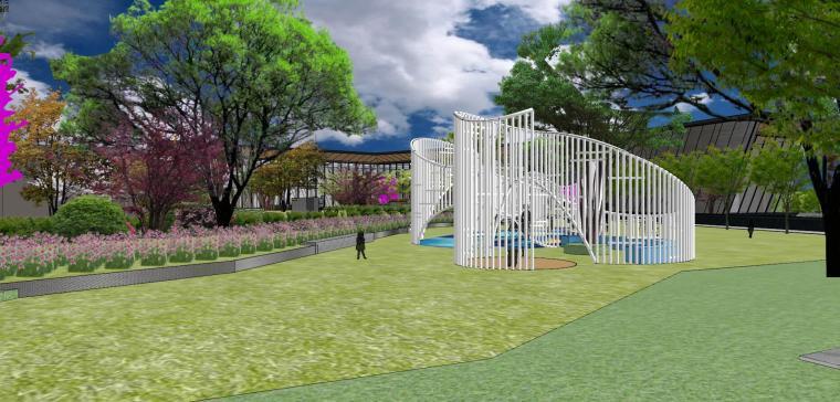 南京天域游客中心示范区建筑模型 (1)