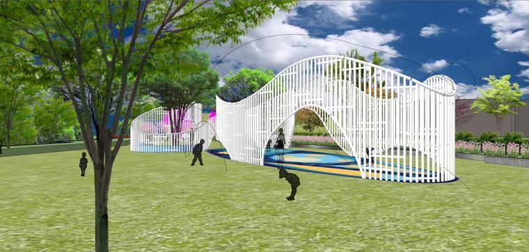 南京天域游客中心示范区建筑模型 (3)