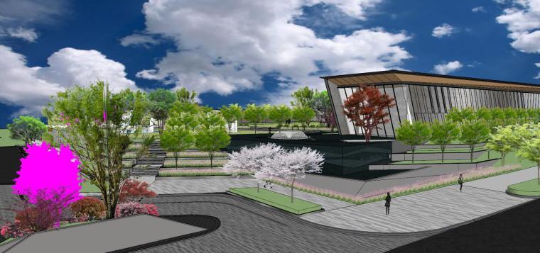 南京天域游客中心示范区建筑模型 (9)