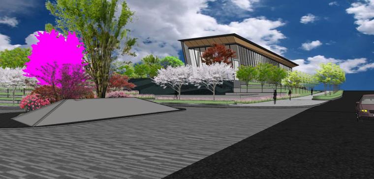 南京天域游客中心示范区建筑模型 (10)