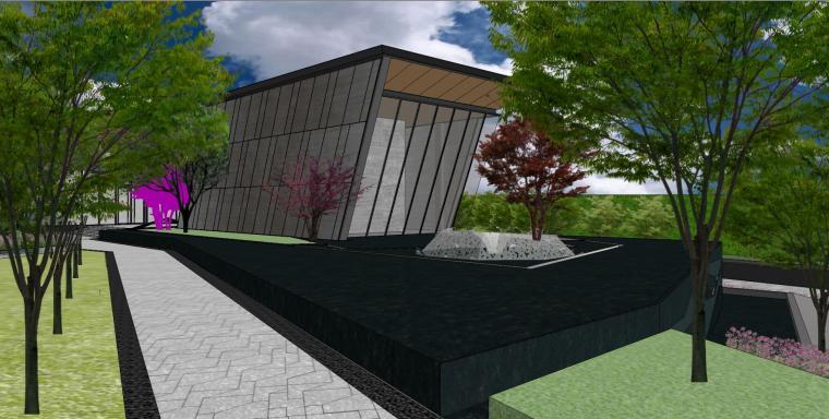 南京天域游客中心示范区建筑模型 (11)