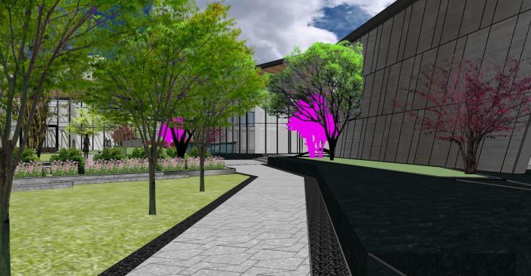 南京天域游客中心示范区建筑模型 (12)
