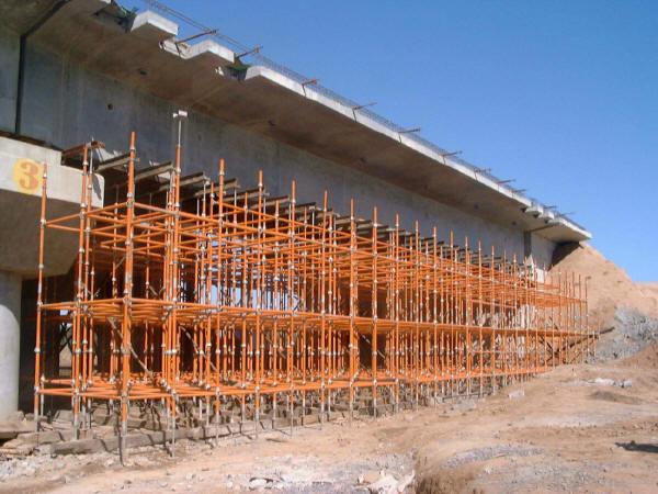 桥梁施工支架结构及力学行为分析(171页)