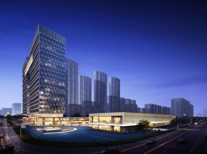 长沙滨江商业_示范区_公寓项目建筑方案文本