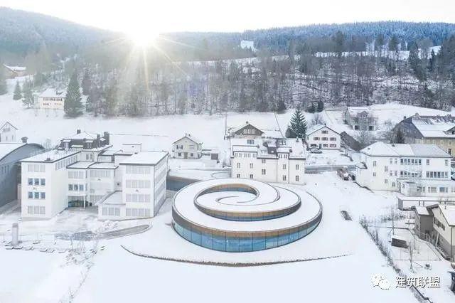 BIG新作:瑞士螺旋钟表博物馆竣工