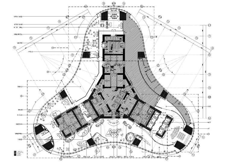 [武汉]超高层绿地中心办公区全套项目资料