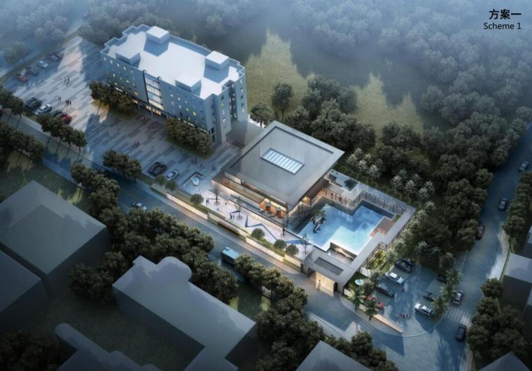 [云南]昆明现代+中式营销中心建筑方案