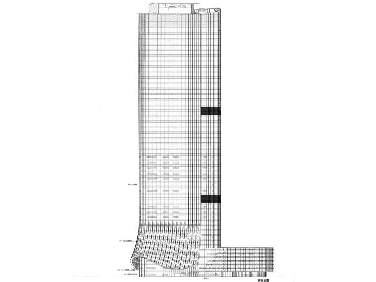 北京超高层5A甲级写字楼建筑施工图(PDF)