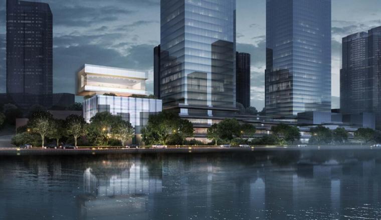 [重庆]国际新城现代示范区建筑方案设计