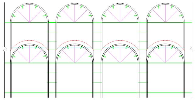 高铁现浇混凝土拱型骨架护坡轻型模板的应用