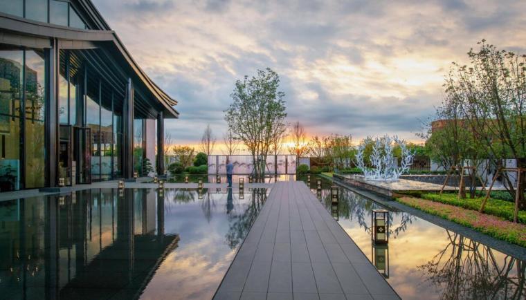 知名企业现代风格示范区建筑设计