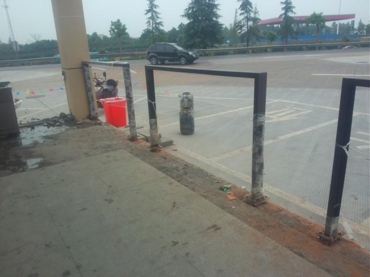 [QC]高速公路槽钢框架栏杆施工工艺创新