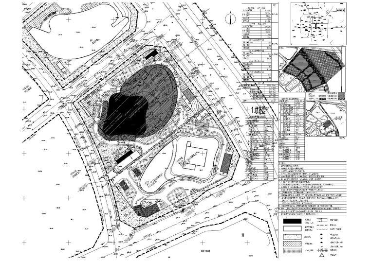 [北京]朝阳区商业金融项目景观设计施工图