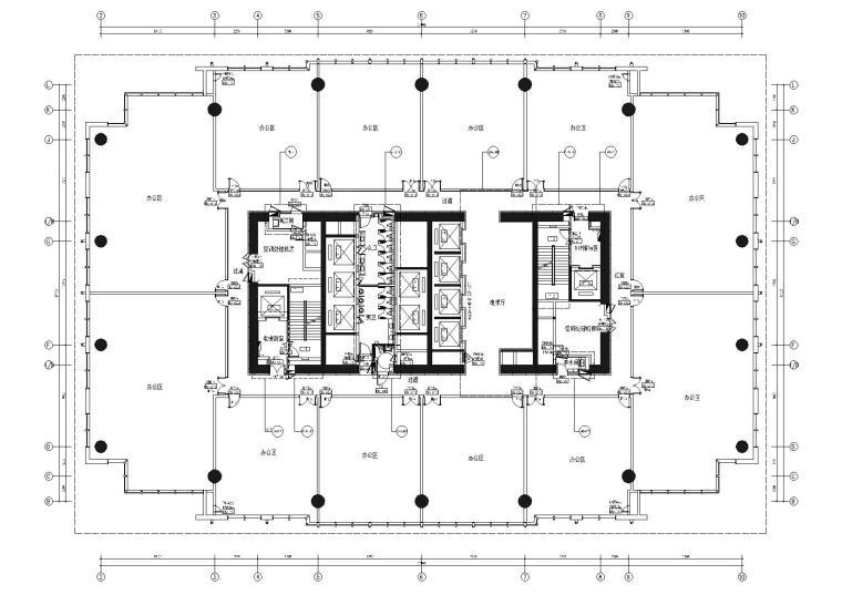 [广州]53层现代办公楼设计施工图+官方摄影