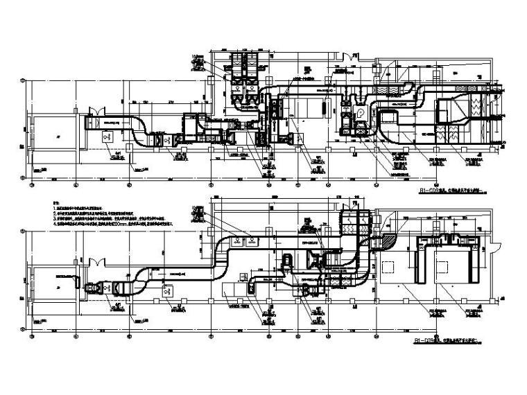 空调机房大样图CAD