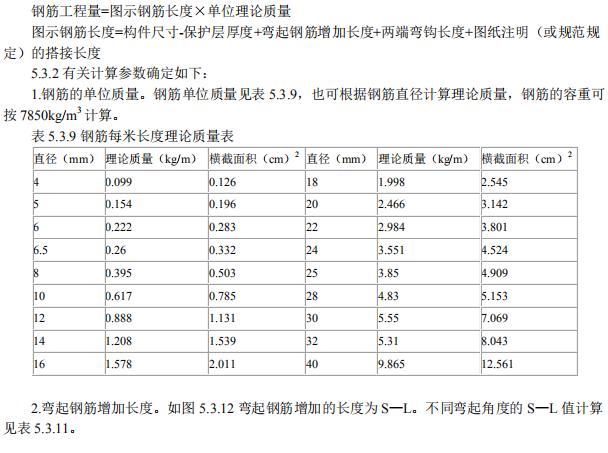 建筑工程识图与计量:钢筋工程计量