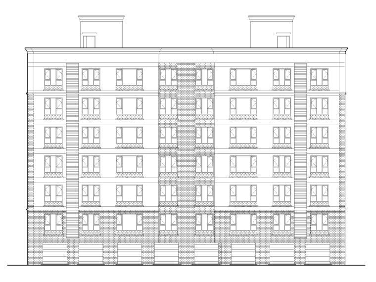 多层住宅及商业配套用房建筑施工图