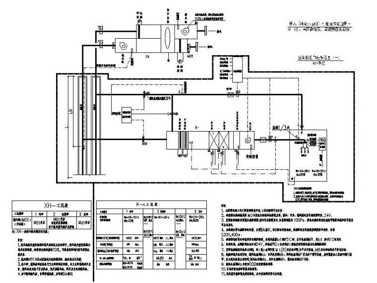 空调机组自控原理图