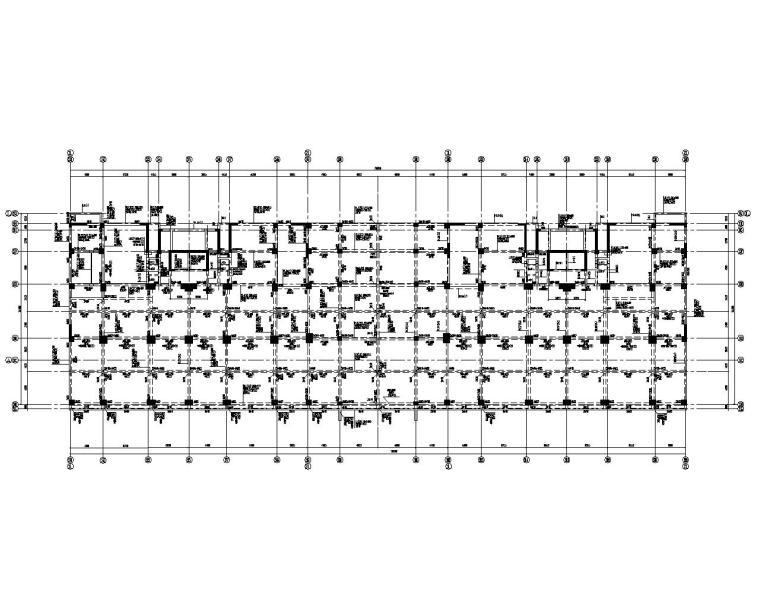 某23层高层住宅剪力墙结构施工图(CAD)