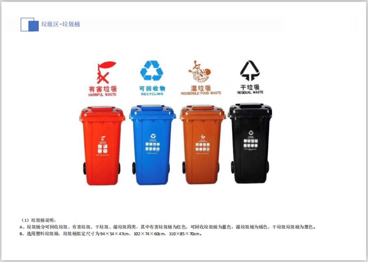 华东知名企业临建设施标准化(19年,194页)-垃圾分类垃圾桶
