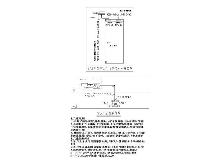 8防火门监控系统图