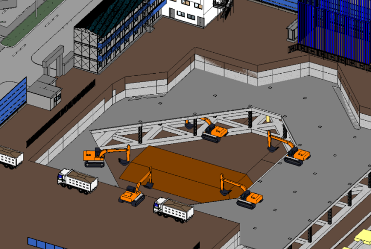 深基坑土方开挖施工方案(19m地连墙,论证后)