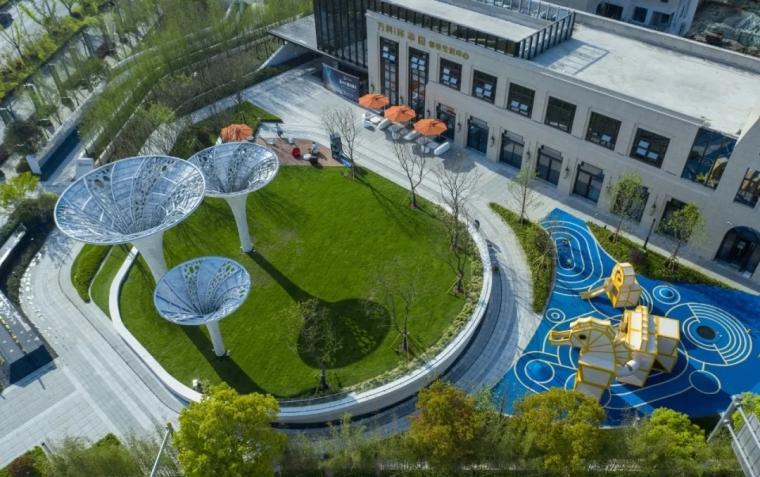 30套常用景观雕塑、廊架、树池等SU模型推荐