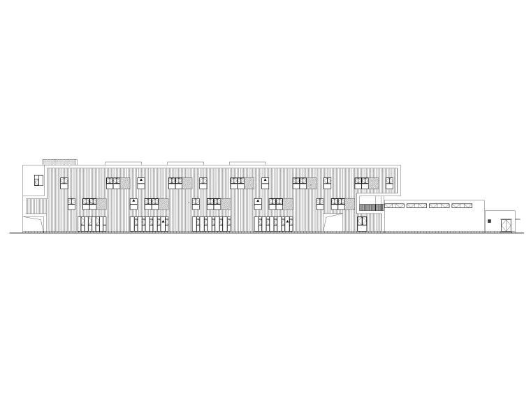 装配式框架结构幼儿园建筑施工图