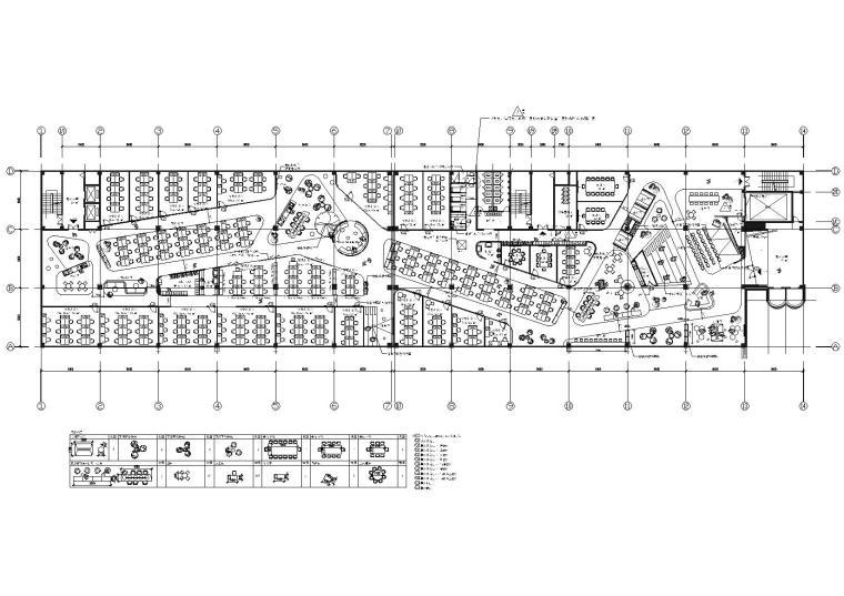 [成都]XNode现代创客办公空间设计施工图