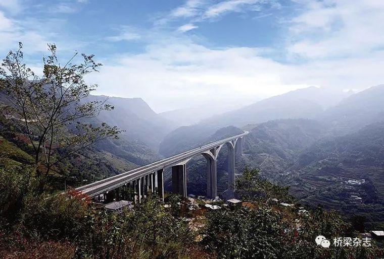 适用山区高墩大跨的新桥型