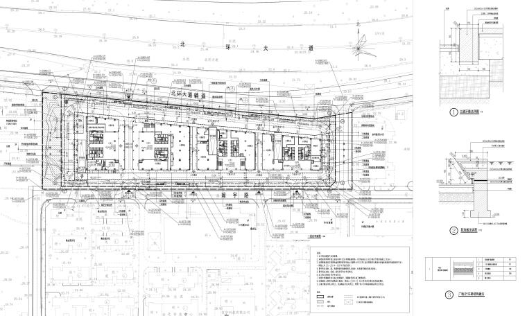 [深圳]办公建筑绿建申报材料景观设计资料