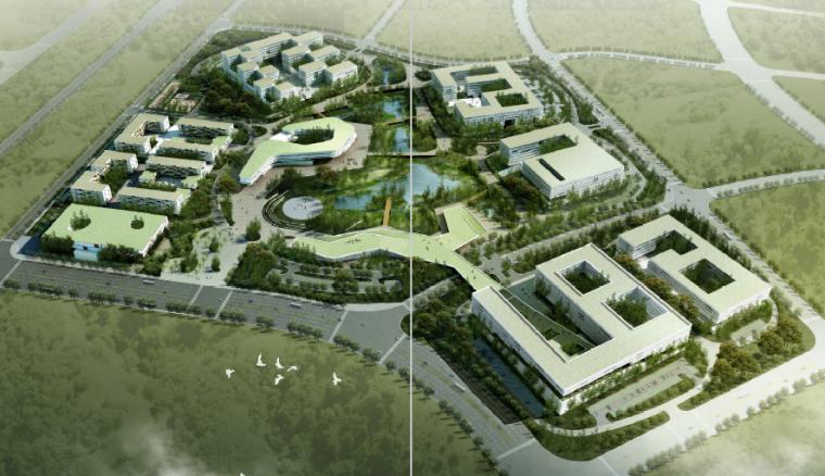 [江西]南昌都市办公产业园景观设计方案