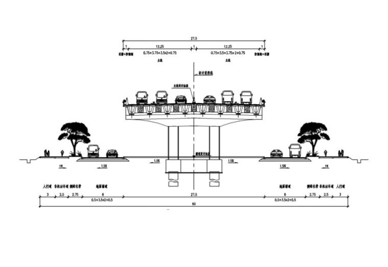 [广州]立交跨线桥桥墩墩柱施工方案2018