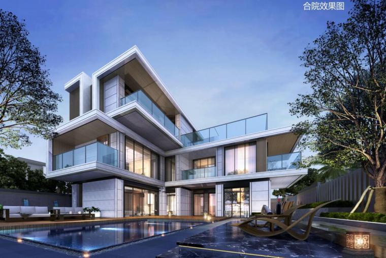 [安徽]现代简约合院洋房+洋房住宅建筑