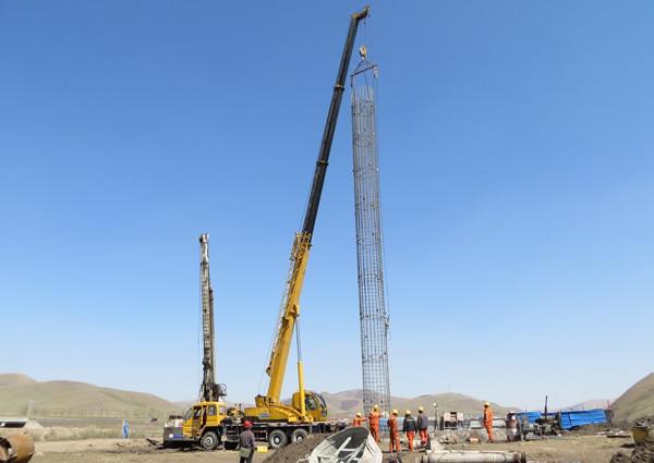 预制桩试桩施工方案资料下载-[广州]立交跨线桥桩基试桩施工方案2018