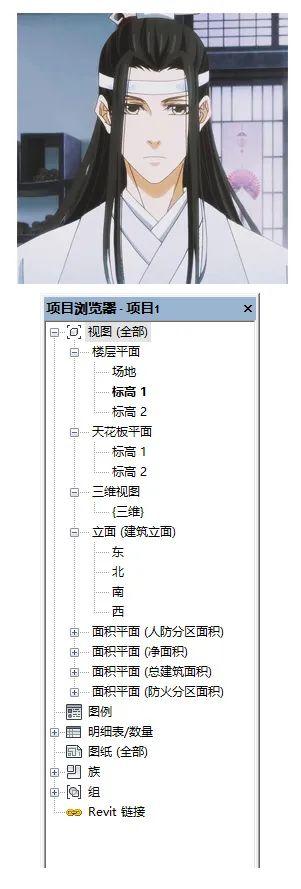 做一个干净的Revit项目浏览器_1