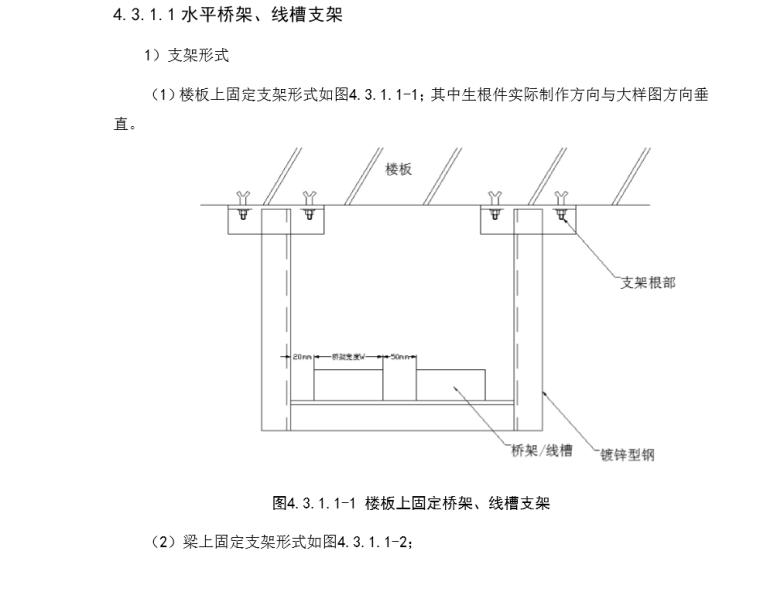 机电安装支吊架方案